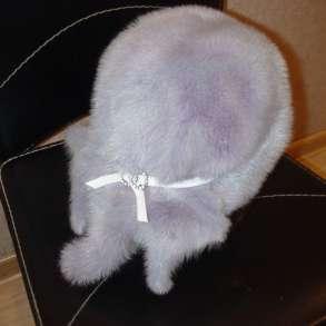 Модная демисезонная меховая шапочка из норки, в Видном