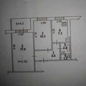 2-х комнатная квартира в развитом районе СЖМ Ростова-на-Дону, в Ростове-на-Дону