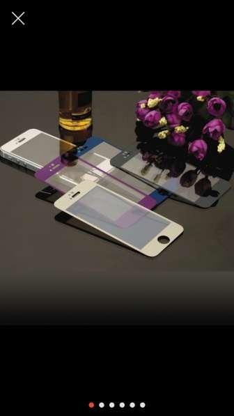 Закалённые стекла на iPhone 4 4S 5 5S 6 6S