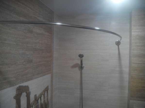 Карнизы, штанги, перекладины для шторки в ванную в Краснодаре фото 19