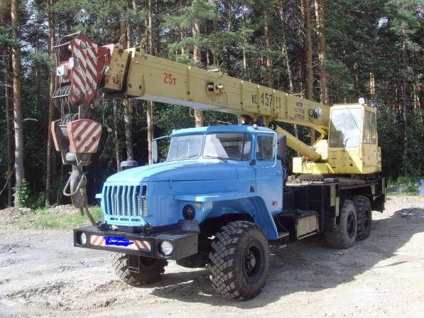 Автокран Урал Челябинец 25 тонн 2007 год