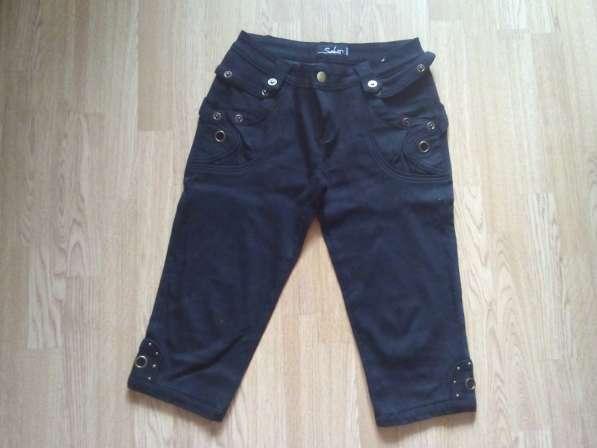 Бриджи джинсовые 46-48 размер