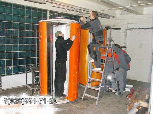 Цех по ремонту соляриев