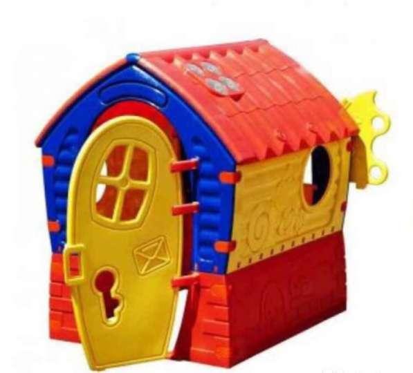 Домик Новый детский игровой дом пластмассовый