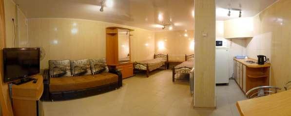 Однокомнатная квартира - номер в самом центре, эконом