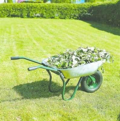 Тачка садовая 65 литров, biltema. швеция