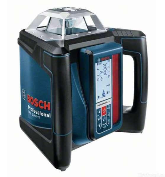 Нивелир лазерный Bosch GRL 500 HV + LR 50 Professional ротационный 0601061B00