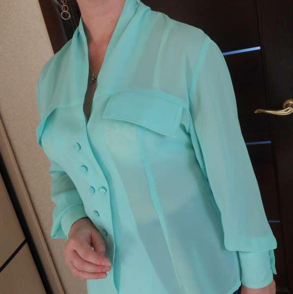 Блузка оригинального, стильного кроя, р. 48-50