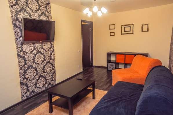 Двухкомнатные апартаменты в центре Омска