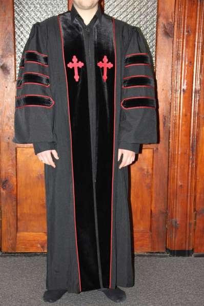 Мантия пастора, дьякона, пресвитера