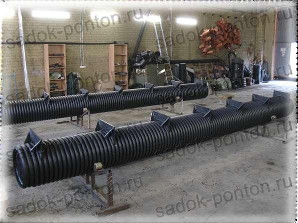 Полимерные понтоны трубные 315