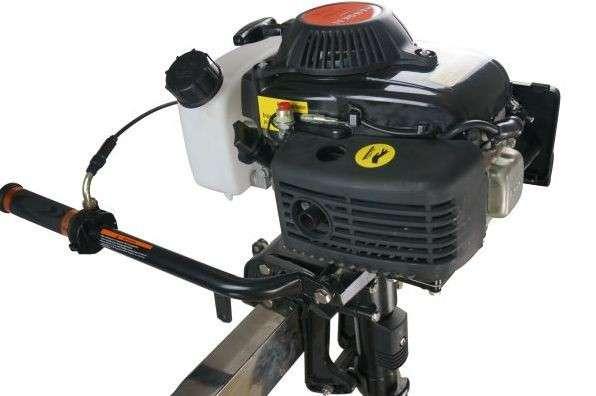 Четырехтактный подвесной лодочный мотор 3,6л.с. Hangkai F3,6
