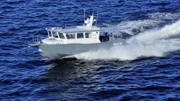 Морской водометный катер Баренц 1100