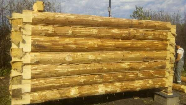 Срубы сосновые для дома из Бурзянского района