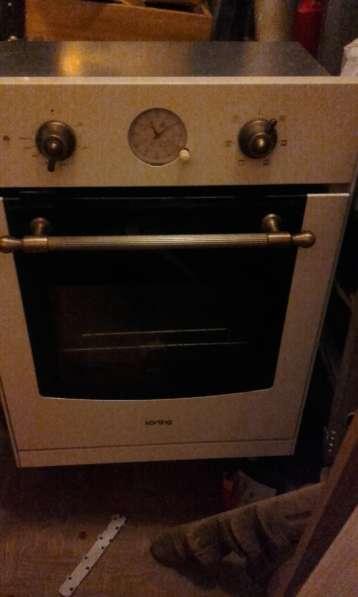Духовой шкаф для встроенной кухни кёртинг б/у