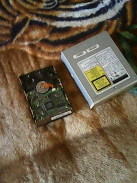 Жесткий диск Samsung SP1203N и привод CRW-5232AS