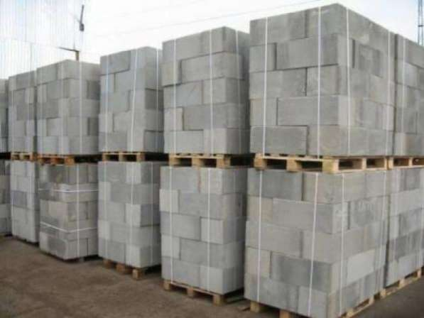 Блоки стеновые ячеистого бетона с доставкой