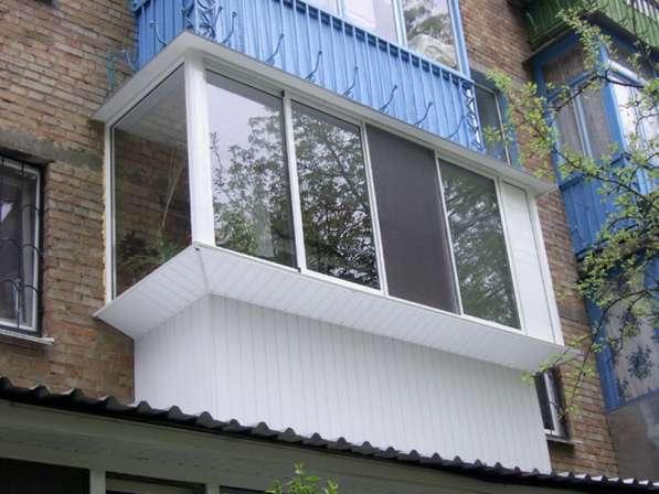 Остекление балконов, пластиковые окна, решётки на окна и ро