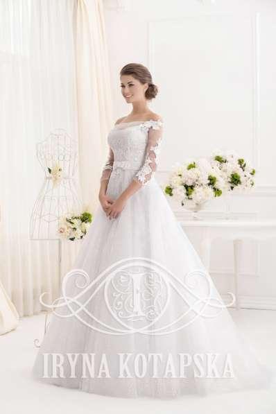 Дизайнерское свадебное платье Ирины Котапской