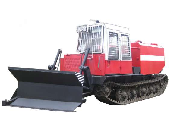 Лесохозяйственный пожарный трактор