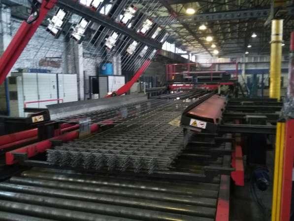 Завод по производству арматуры, метталической сетки