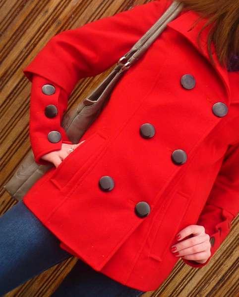 Кардиган из кашемира красного цвета