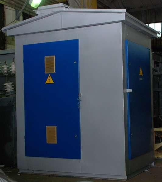 Уменьшенные трансформаторные подстанции КТП мощностью до 630