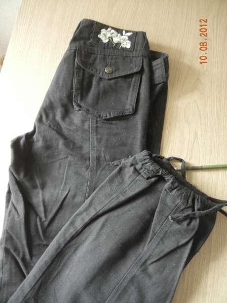 Черные брюки х/б