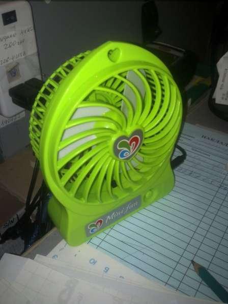 Настольный вентилятор MiniFan