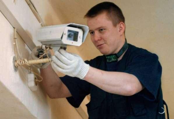 Монтаж, ремонт, модернизация видеонаблюдения