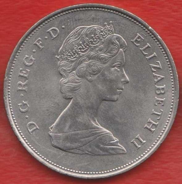 Великобритания Англия Елизавета II 25 пенсов 1980 Королева в Орле