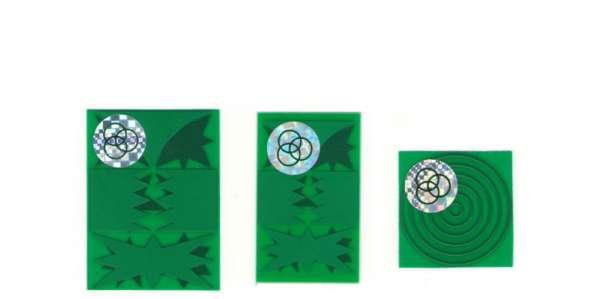Защитная «пластина–чип» от электромагнитного излучения