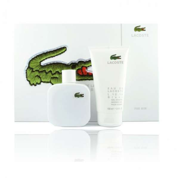 Подарочный набор Lacoste L.12.12 Blanc Туалетная вода 100 мл