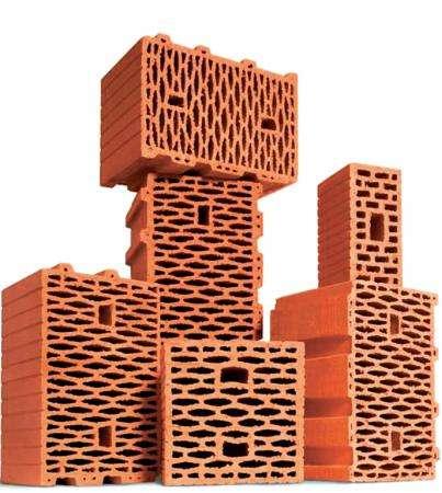 тёплую керамику (крупноформатные блоки)