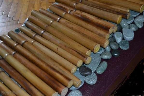 Бамбуковые палочки, веники, камни, гуаша для массажа в Москве фото 3