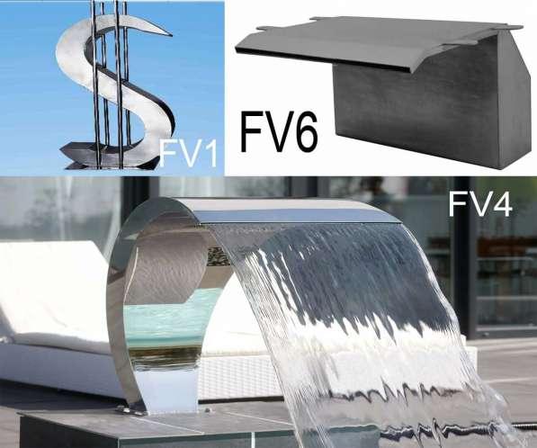 Фонтаны из высококачественной нержавеющей стали