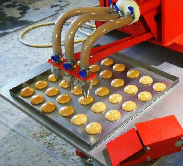 Кондитерский цех с мощностью до 50 кг/час готовой продукции