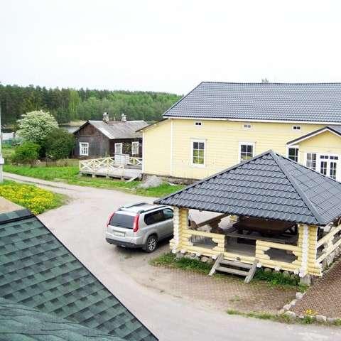 Реставрированный финский дом в Мельниково (Приозерский)