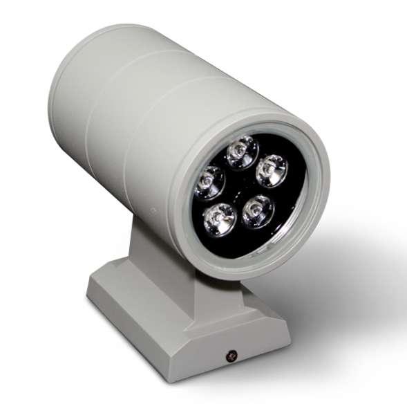 Светильник архитектурный 2-сторонний лучевой 2x3W