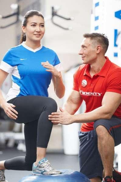В тренажерный зал требуется тренер с опытом работы