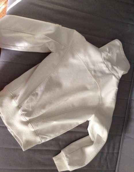 Куртка, кож. зам, б/у, р.46