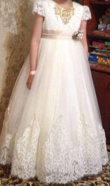 Бальное платье для девочки 6-7 лет