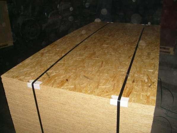 Влагостойкая ОСБ, ОСП -плита (OSB) - 10мм