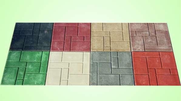 Плитку садовую полимерпесчаную 330*330*20мм
