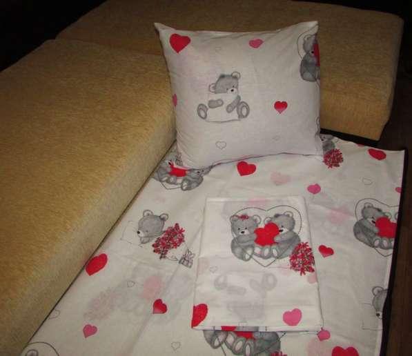 Постель Мишки-кроватка.