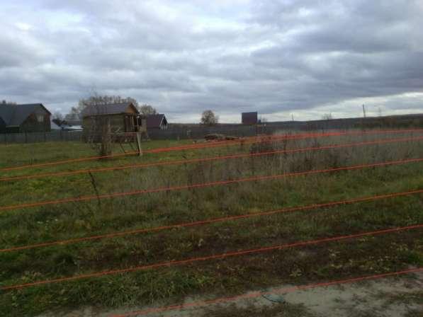 Участок 15 соток в деревне Величково 97 км от МКАД