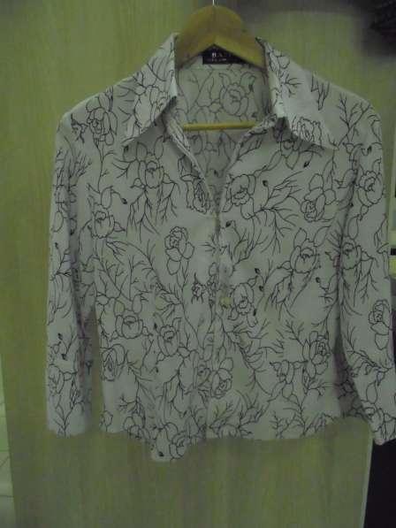 Блузка (рубашка) НОВАЯ, стрейч, на молнии, р.48-50