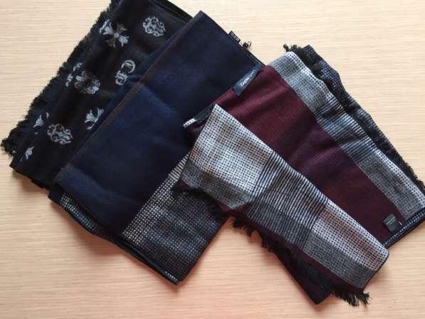 Кашемировые шарфы мужские