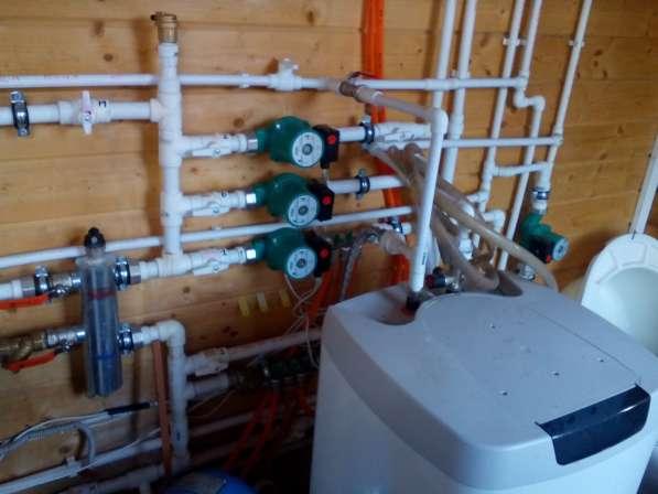 Монтаж котла и системы отопления, проектирование