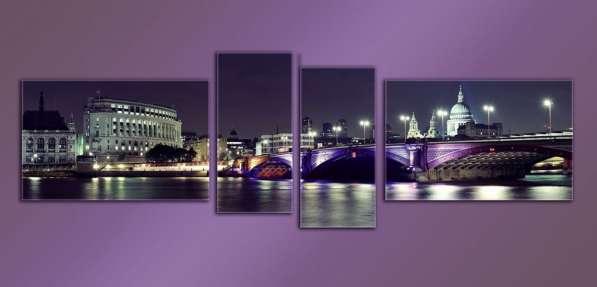 Модульные картины на стекле